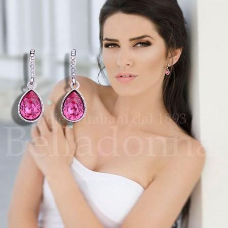 Cercei-cristal-roz-sub-forma-de-lacrima