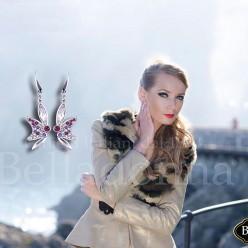 Cercei-model-fluturas-cu-cristale-colorate