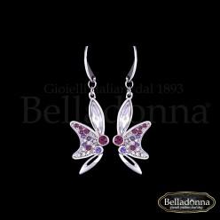 Cercei-model-fluture-cu-cristale