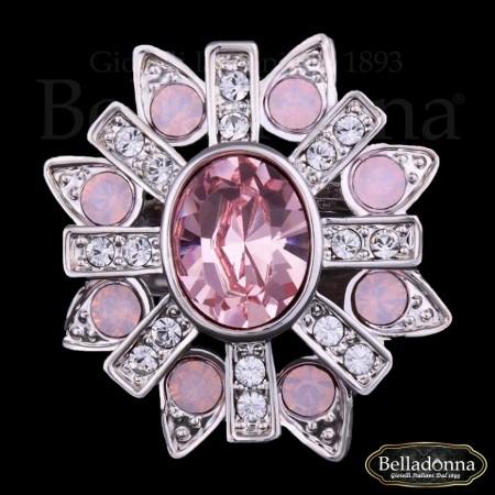 Inel-model-floare-cu-pietre-roz