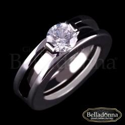 Verigheta-Belladonna-argintie-cu-cristal-alb
