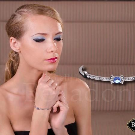 bratara cu cristale albastre (3)