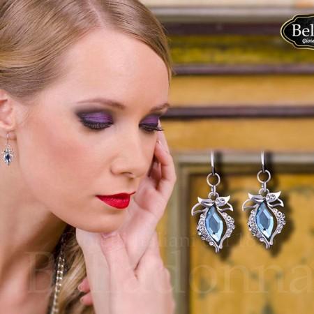 cercei-model-lacrima-cu-cristale-albastre